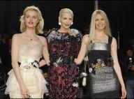 """Le clan des """"anciennes"""" Claudia Schiffer et Eva Herzigova ont mis K.O... Scarlett, Eva et les autres !"""