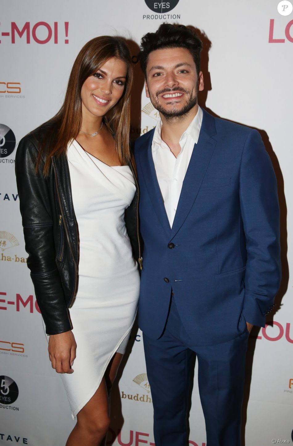Iris Mittenaere et Kev Adams lors de l'After Party de 'Loue-Moi !', au Buddha Bar à Paris, France, le 3 Juillet 2017.