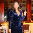 """""""Exclusif - Eva Longoria et son mari José Baston sont allés dîner au restaurant Cipriani à New York, le 21 novembre 2017."""""""