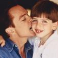 Photo de David Cassidy et son fils Beau postée par ce dernier sur Instagram