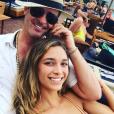 Robin Thicke et April Love Geary sur une photo publiée sur Instagram en mai 2017