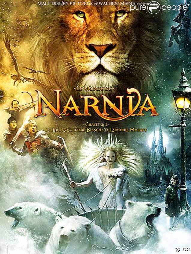"""L'affiche du premier volet des """"Chroniques de Narnia"""" !"""