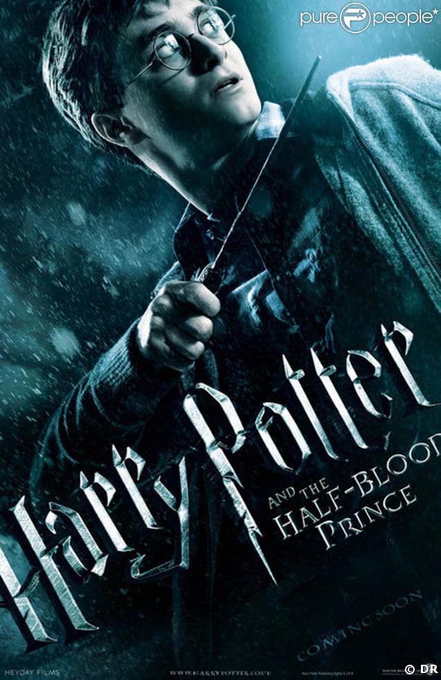"""L'affiche de """"Harry Potter et le Prince de sang-mêlé"""", dans toutes les salles françaises le 15 juillet 2009 !"""