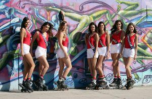 Miss France 2018 : Les 30 Miss sexy et sportives dans les rues de Los Angeles !
