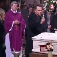 Laura Smet et David Hallyday - aux obsèques de Johnny Hallyday à Paris. Le 9 décembre 2017.