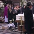 Obsèques de Johnny Hallyday à Paris. Le 9 décembre 2017.