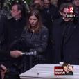 Matthieu Chedid aux obsèques de Johnny Hallyday à Paris. Le 9 décembre 2017.