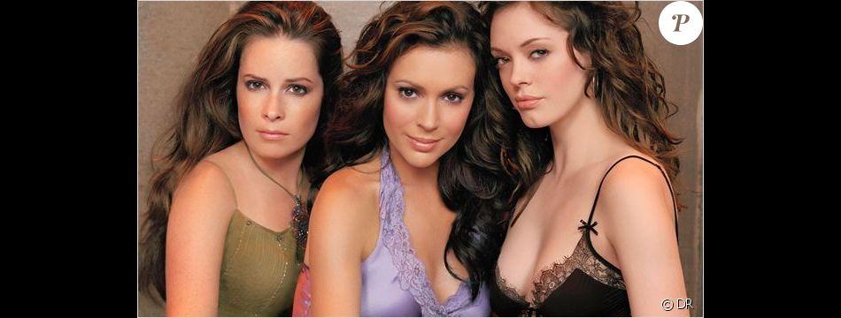 Holly Mary Combs, Alyssa Milano et Rose McGowan dans Charmed