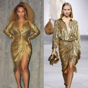 Beyoncé : Statuette dorée lumineuse, elle embrase la toile