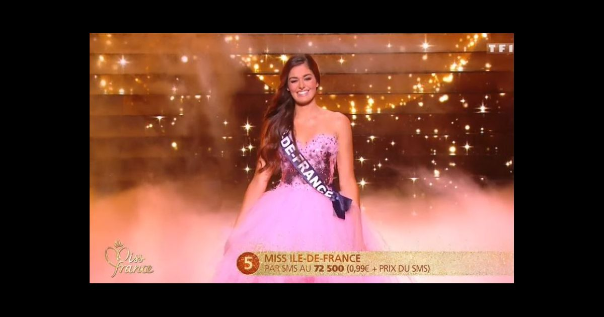 miss ile de france lison di martino concours miss france 2018 sur tf1 le 16 d cembre 2017. Black Bedroom Furniture Sets. Home Design Ideas