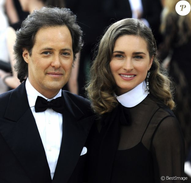 "David Lauren et sa femme Lauren Bush - Soirée Costume Institute Benefit Gala 2016 (Met Ball) sur le thème de ""Manus x Machina"" au Metropolitan Museum of Art à New York, le 2 mai 2016. © Future-Image/Zuma Press/Bestimage"