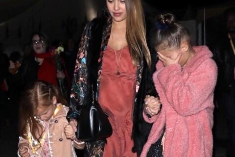 Jessica Alba enceinte : Stylée et en famille pour un show mémorable