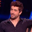 """Agustin Galiana et Candice Pascal lors du prime de demi-finale de """"Danse avec les stars 8"""" (TF1), le 9 décembre 2017."""