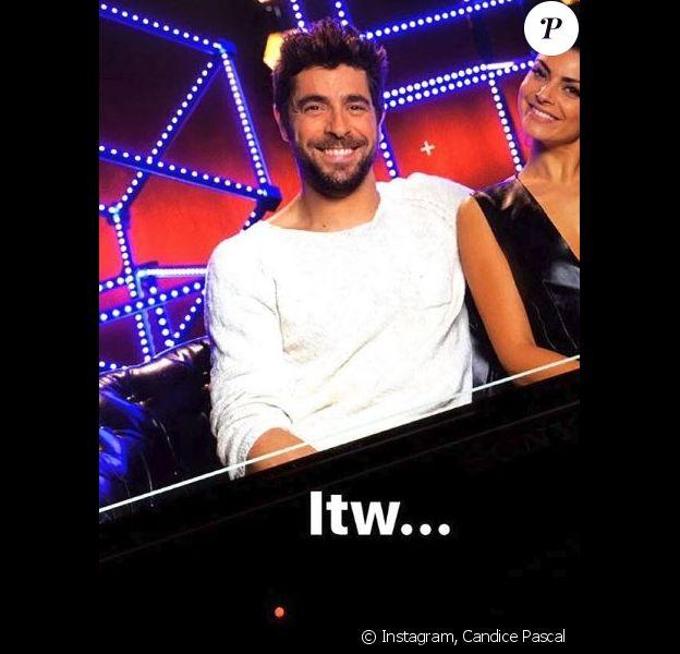 """Candice Pascale en interview pour la finale de """"Danse avec les stars 8"""", Instagram, 11 décembre 2017"""