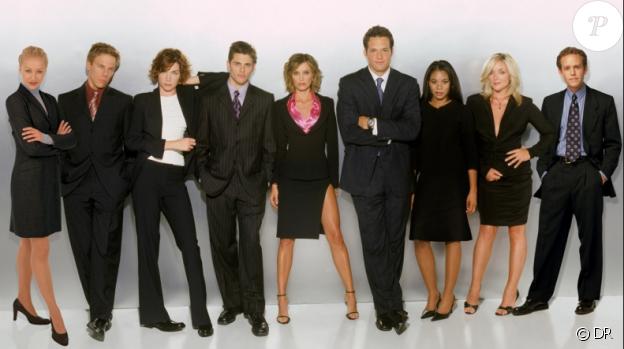 L'équipe de la série Ally McBeal