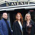 Maëva Coucke (Miss France 2018) et Sylvie Tellier sont allées déjeuner au restaurant L'Avenue à Paris, le 18 décembre 2017. © Denis Guignebourg/Bestimage