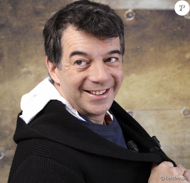 Exclusif - Rendez-vous avec Stéphane Plaza à Paris le 7 décembre 2017. © Cédric Perrin/Bestimage.