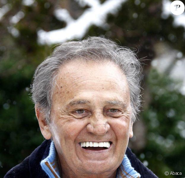 Roger Hanin, qui vient de vendre son catalogue de films à Orange TV.