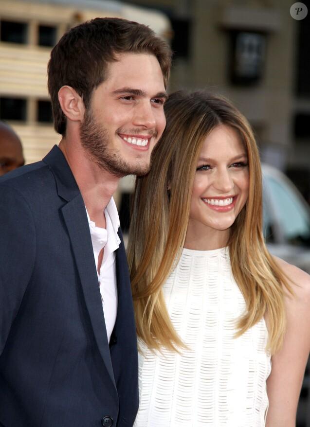 """Melissa Benoist et son mari Blake Jenner - Première du film """"The Longest Ride"""" à Hollywood le 6 avril 2015."""