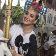 Katy Perry s'amuse au parc Disney en Floride le 18 décembre 2017.