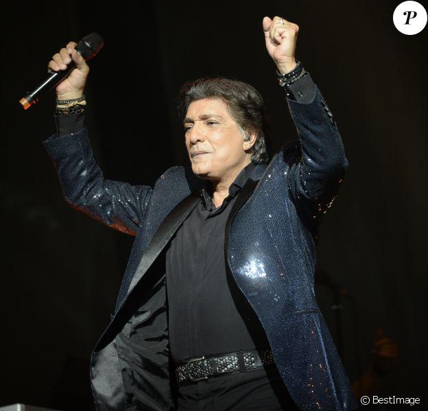 Exclusif - Frédéric François en concert à l'Olympia à Paris le 9 avril 2017 © Patrick Carpentier / Bestimage