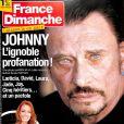 """Couverture du magazine """"France Dimanche"""" en kiosques le 22 décembre 2017"""