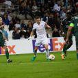 Florian Thauvin lors du match d'Europa League de l'OM contre Konyaspor à l'Orange Vélodrome le 14 septembre 2017.