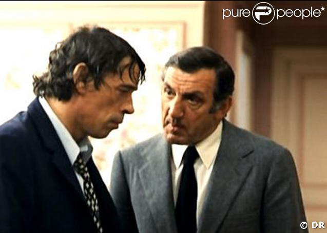 Jacques Brel et Lino Ventura dans l'Emmerdeur de Molinaro