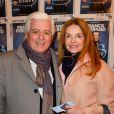 """Jacques Garcia et Cyrielle Clair - Générale du spectacle """"Histoires"""" de Franck Ferrand au théâtre Antoine à Paris le 5 décembre 2016. © Coadic Guirec/Bestimage"""