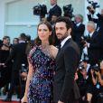 Rebecca Hall et son mari Morgan Spector - Première du film Downsizing lors de la cérémonie d'ouverture du 74ème festival de Venise le 30 août 2017.