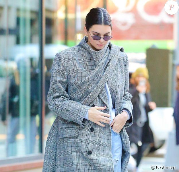 Kendall Jenner à New York. Le 20 novembre 2017.