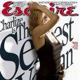 """Charlize Theron, superbe en couverture de """"Esquire"""", élue """"femme la plus sexy du monde"""", est à l'affiche de """"Loin de la terre brûlée"""", à partir du 11 mars 2009, et bientôt dans le très attendu """"La Route"""" !"""