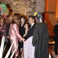 Comme son mari, la first lady mexicaine donne de nombreuses explications sur les traditions de son pays