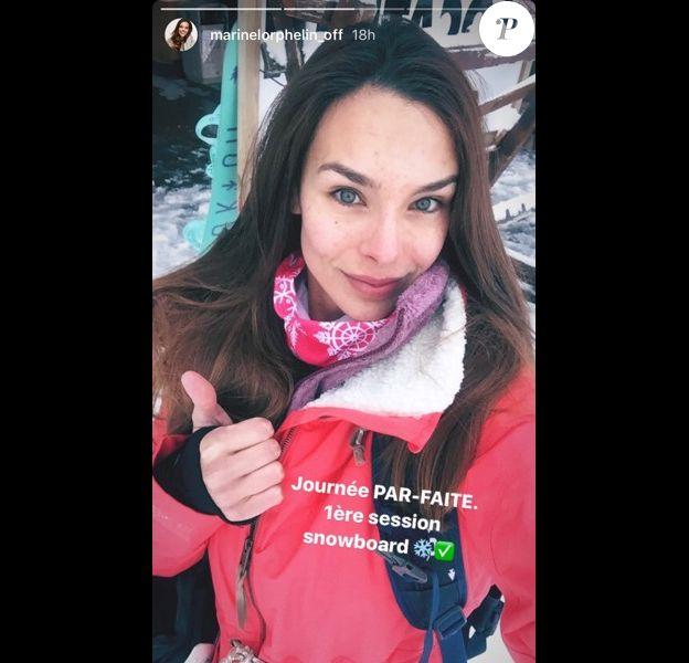 Marine Lorphelin sans maquillage, le 14 décembre 2017.