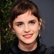 Emma Watson change de coupe et dévoile une étonnante frange...