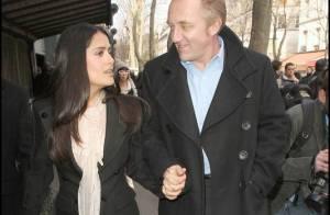 Salma Hayek et François Henri Pinault : une tendre baiser... devant tout le monde !