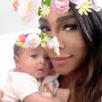 La fille de Serena Williams sur Instagram, octobre 2017.