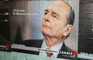 Chirac, Royal, Bachelot, Ben Laden... assurent la pub des 20 ans des Guignols ! Trop bien !