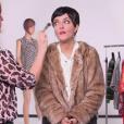 """""""Camille Lellouche imite Cristina Cordula dans """"Quotidien"""" sur TMC."""""""