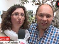 Damien et Élodie (L'amour est dans le pré) parents : Un bébé pour Noël