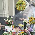 Hommage à Tom Petty sur Hollywood Boulevard, le 3 octobre 2017, suite à sa mort à l'âge de 66 ans. © CPA / Bestimage