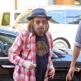 Tom Petty le 11 septembre 2017 à Los Angeles, lors d'une visite à un établissement médical de Beverly Hills. Le chanteur souffrait notamment d'une fracture à la hanche.