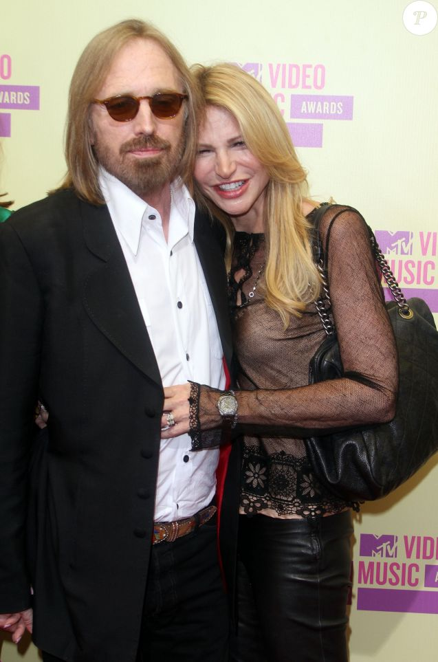 Tom Petty et sa femme Dana en septembre 2012 à Los Angeles lors des MTV Video Music Awards.