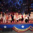 La troupe du 42ème Festival International du Cirque de Monte-Carlo, le 19 janvier 2018. © Claudia Albuquerque/Bestimage