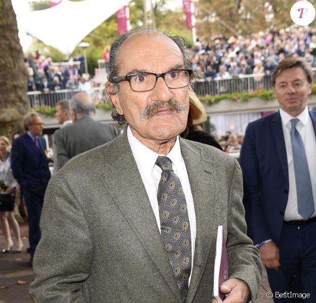 Gérard Hernandez - 94ème Qatar Prix de l'Arc de Triomphe à l'Hippodrome de Longchamp à Paris, le 4 octobre 2015.