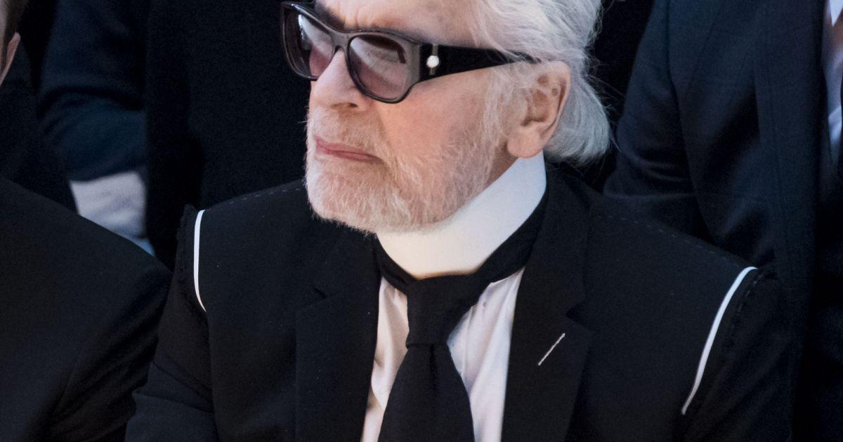 Karl Lagerfeld barbu : Ce nouveau look qui chamboule la ...