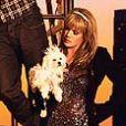 """Lorenzo Lamas, son ex-femme Michele Smith et leurs enfants Shayne et A. J. pour le programme de télé-réalité """"Leave It to Lamas"""" en 2009."""