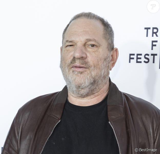 Harvey Weinstein au 25ème anniversaire de la projection 'Reservoir Dogs' lors du Festival du Film de Tribeca à New York, le 28 avril 2017