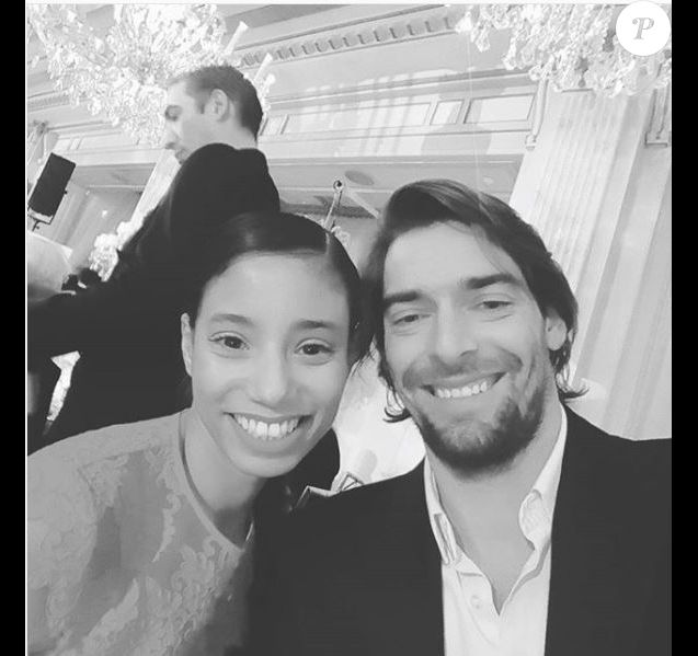 Camille Lacourt et et Hajiba Fahmy - Instagram, 25 janvier 2018