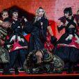 Concert de Madonna à l'AccorHotels Arena à Paris, le 9 décembre 2015.